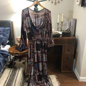 American Eagle Boho Maxi Dress